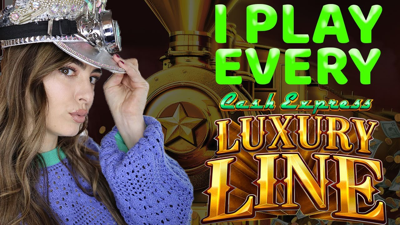 I PLAY EVERY CASH EXPRESS LUXURY LINE SLOT MACHINE! New Game At Casino!