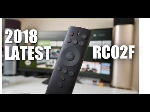 AWESOME $25 VOICE AIR REMOTE ( RC02F ) NVIDIA SHIELD TV / MI BOX / ANDROID TV BOX