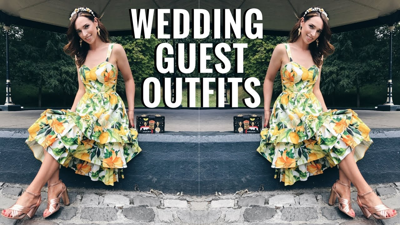 5 Stylish Wedding Guest Outfits Occasion Wear Lookbook Ciara O Doherty
