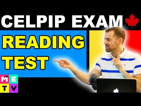 CELPIP Exam Reading Practice
