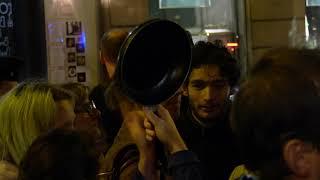 Feminicide : action de militantes devant l'Élysée (15 octobre 2019, Paris)
