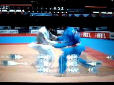 david douillet Judo eu jogando