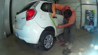 Датсун Мі-До ремонт кузова в Нижньому Новгороді Datsun mi-DO Auto body repair.