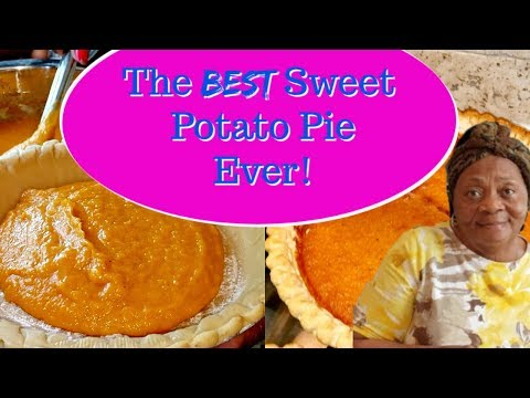 🥧The Best Sweet Potato Pie You've Ever Had | Cooking With Granny