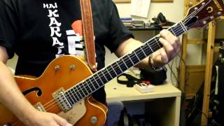 Adagio for strings, Samuel Barber. Guitar cover on a gretsch 6120