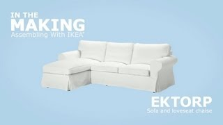 Video IKEA EKTORP Sofa and Chaise Assembly Instructions download MP3, 3GP, MP4, WEBM, AVI, FLV Juni 2018