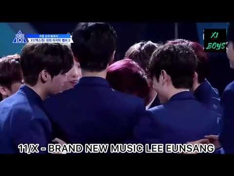Produce X 101 Final Rank 1-11 Debut Announcement