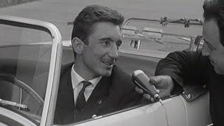 Interview Jo Siffert im Cabriolet (1964) | SRF Archiv