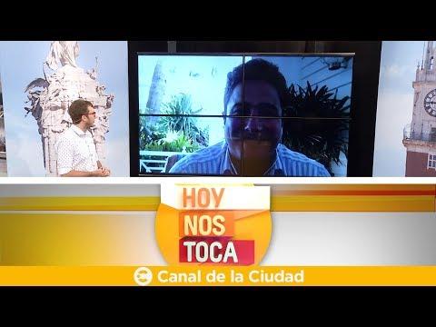 """<h3 class=""""list-group-item-title"""">Comunicación vía Skype con Ezequiel Domínguez en Hoy nos toca</h3>"""