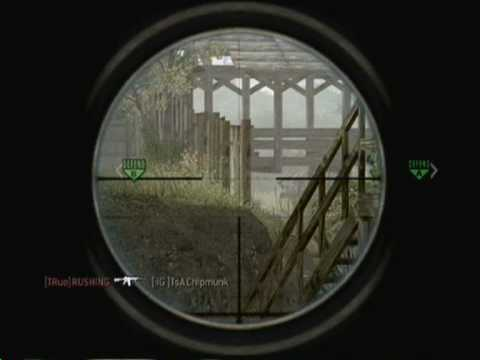 Ironic Gaming.cod4 v The Regiment Squad2