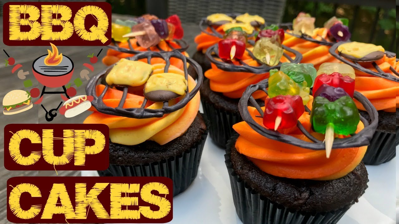 Bbq Cupcakes Chocolate Cupcakes With Grill Tops Youtube