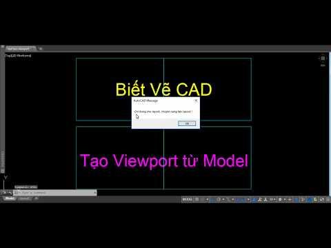 Lisp tạo hàng loạt Viewport từ model sang layout