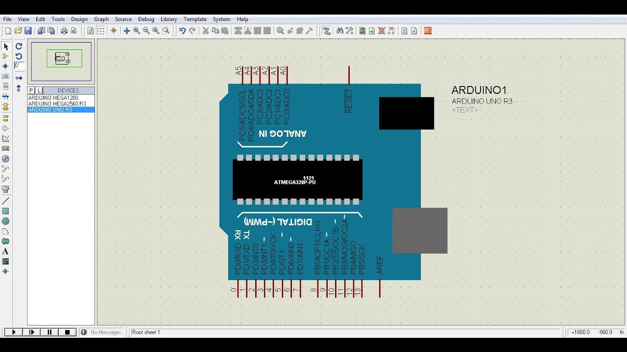 How to add ARDUINO in Proteus 7 and below