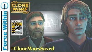 The Clone Wars Saved Trailer and Panel Breakdown! Star Wars The Clone Wars News