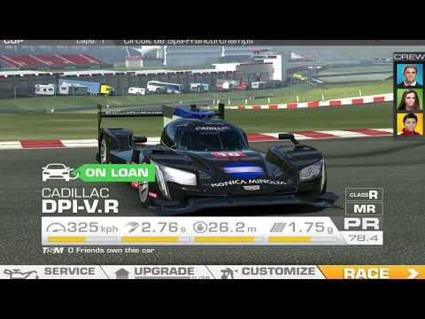 Real Racing 3 CADILLAC DPI V.R Cinematic Gameplay