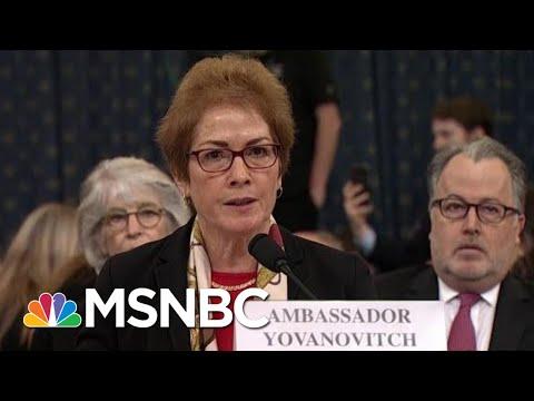Lev Parnas Describes How Trump Struggled To Fire Amb. Yovanovitch | Rachel Maddow | MSNBC