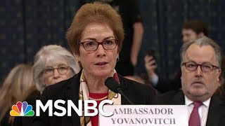 Lev Parnas Describes How Trump Struggled To Fire Amb. Yovanovitch | Rachel Maddow | MSNBC