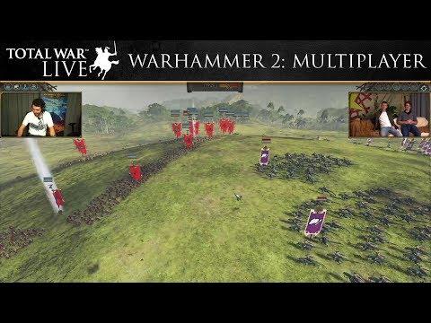 Total War: WARHAMMER 2 Multiplayer First Look – Total War: Live
