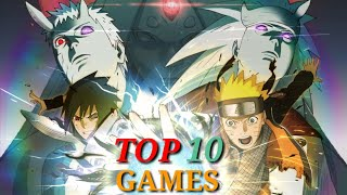 😘Top 10 Naruto Games For Android & Ios || With Download Link😎