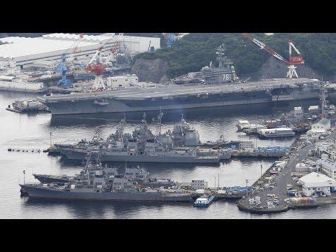 USS Ronald Reagan: Zweiter US-Flugzeugträger nimmt Nordkorea in die Zange