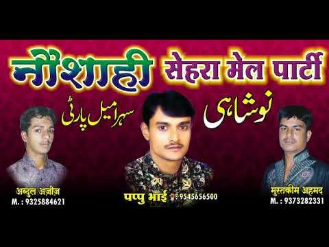Malik ne banaye sare ye dono jaha ke nazare nabi ke waste (naushahi pappu qawwal kamptee)new jhankar