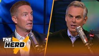 Joel Klatt talks Ohio State vs. Penn State, Jim Harbaugh's performance this year | CFB | THE HERD