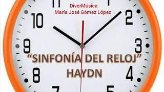 Sinfonía El reloj. Musicograma.
