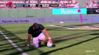 Argentina vs  South Africa Salta 2014
