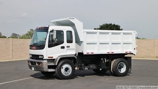 2001 GMC T8500 12.5 Yard Dump Truck for sale