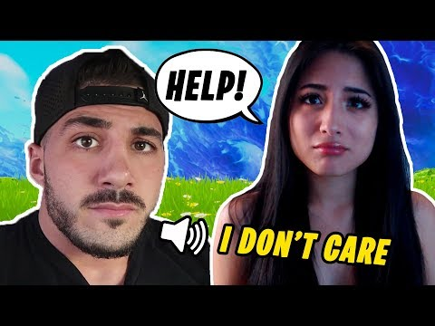 I Got In A Game With The REAL NICKMERCS & He Was A Little Rude