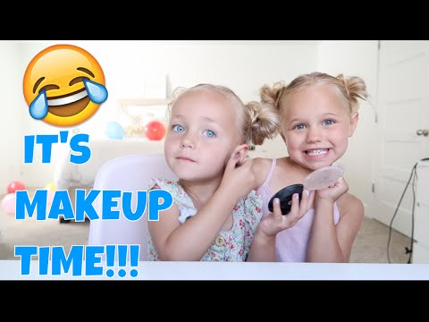 Cute And Funny Kids Makeup Tutorial!!!