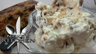 Christmas Cake Ice Cream - Christmas Recipe