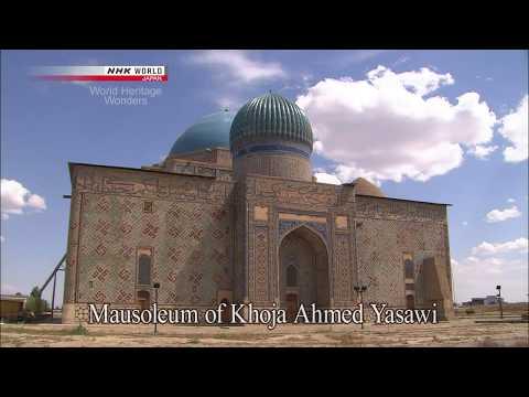 Mausoleum of Khoja Ahmed Yasawi in Turkestan · Kazakhstan