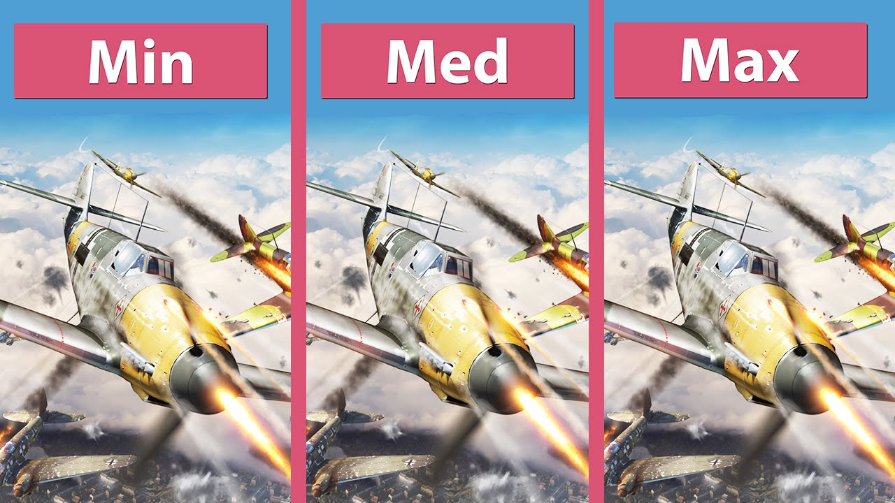 War thunder pc vs ps4 graphics comparison stock