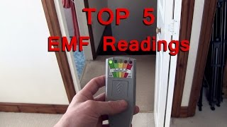 TOP 5 EMF Readings Caught on Video