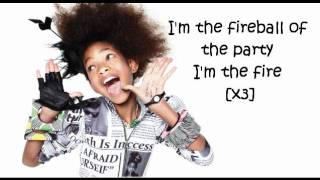 Willow Smith Feat. Nicki Minaj - Fireball (LYRICS ON SCREEN) Mp3
