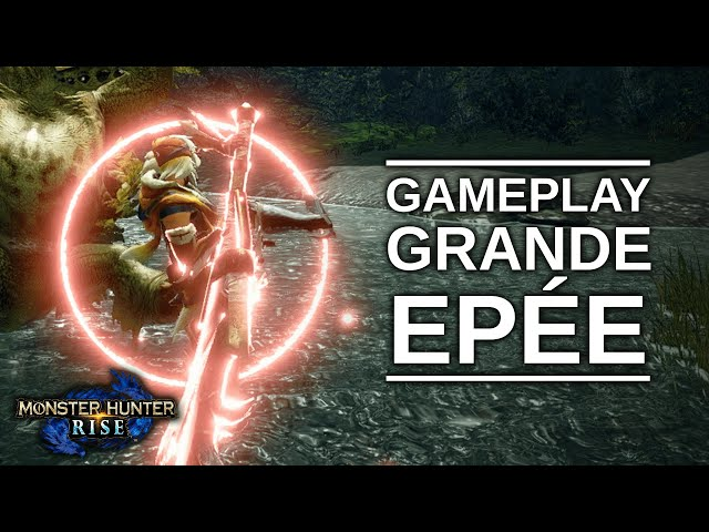 Monster Hunter Rise - Gameplay Grande Épée