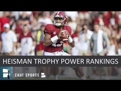 Top 10 Heisman Trophy Candidates: Tua Tagovailoa Has Lead Over Kyler Murray As Dwayne Haskins Falls