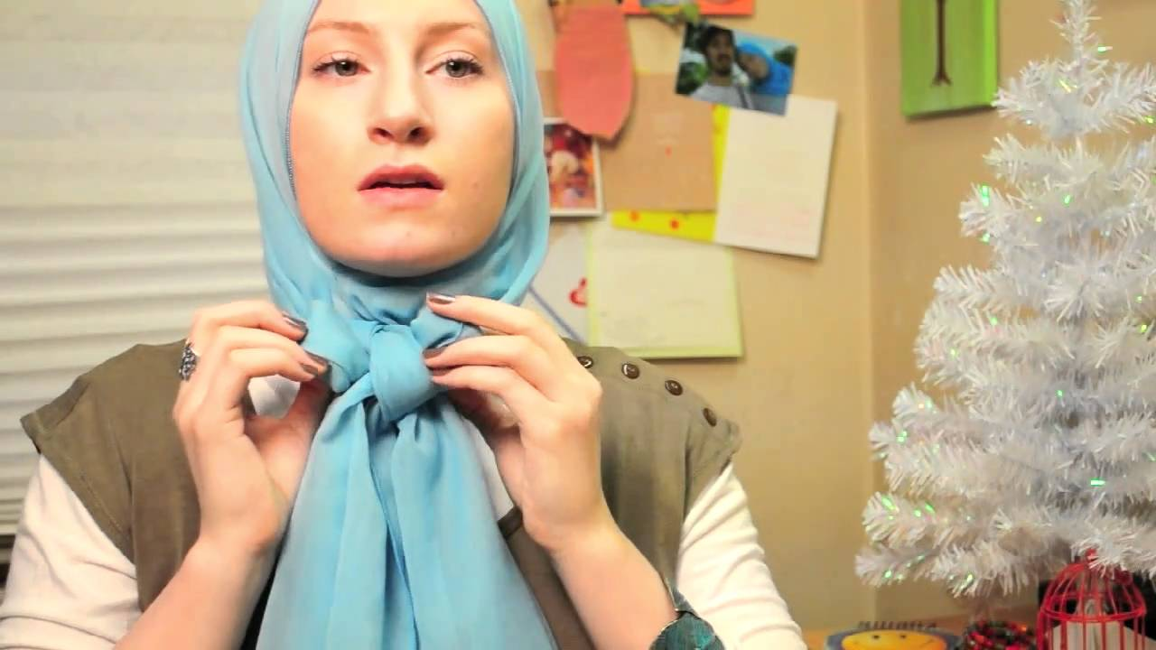 Scarf Hijab Bow Tutorial