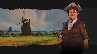 Civ 6 RaF Game 46: Netherlands (SP Deity) Part 8