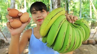 Yummy cooking dessert banana recipe - Cooking skill