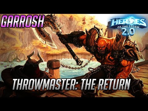 Garrosh - Master Thrower: The Return - Heroes of the Storm Wrecking Ball Build