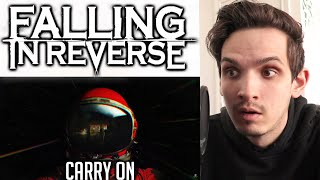 Metal Musician Reacts to Falling In Reverse | Carry On |