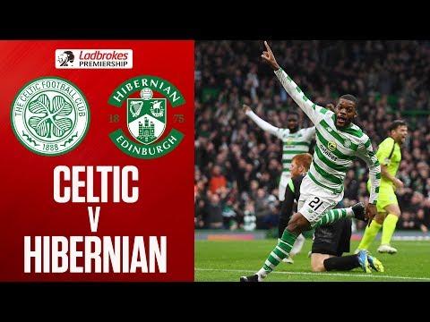 Celtic 4-2 Hibernian | Goals from Rogic & Ntcham See Celtic Past Hibs | Ladbrokes Premiership
