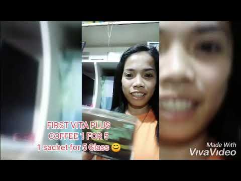 First Vita Plus COFFEE 1 FOR 5, Para Sa Mga Mahilig Mag Kape.❤️