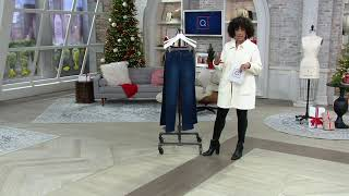 NYDJ Marilyn Straight Leg Jeans with Double Button on QVC