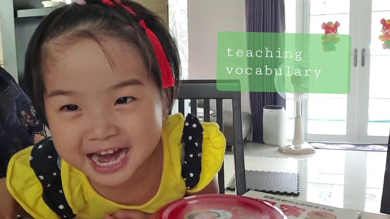 Teaching tri-lingual for 3 years old