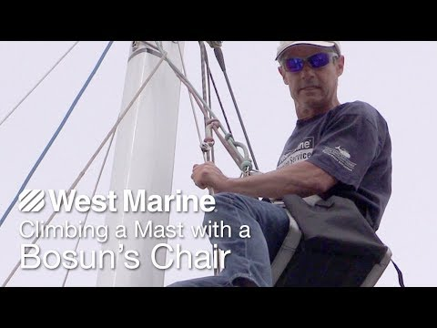 How To Climb A Mast With The Harken Bosun's Chair