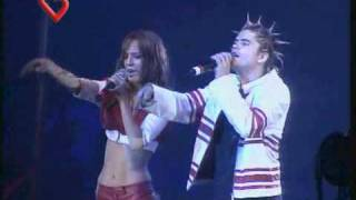 "Rebelde Way, Canción ""Sweet Baby"" En vivo"