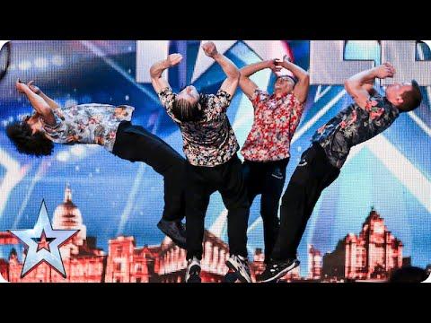 Dance act OK WorldWide are flipping AMAZING! | Britain's Got Talent 2015